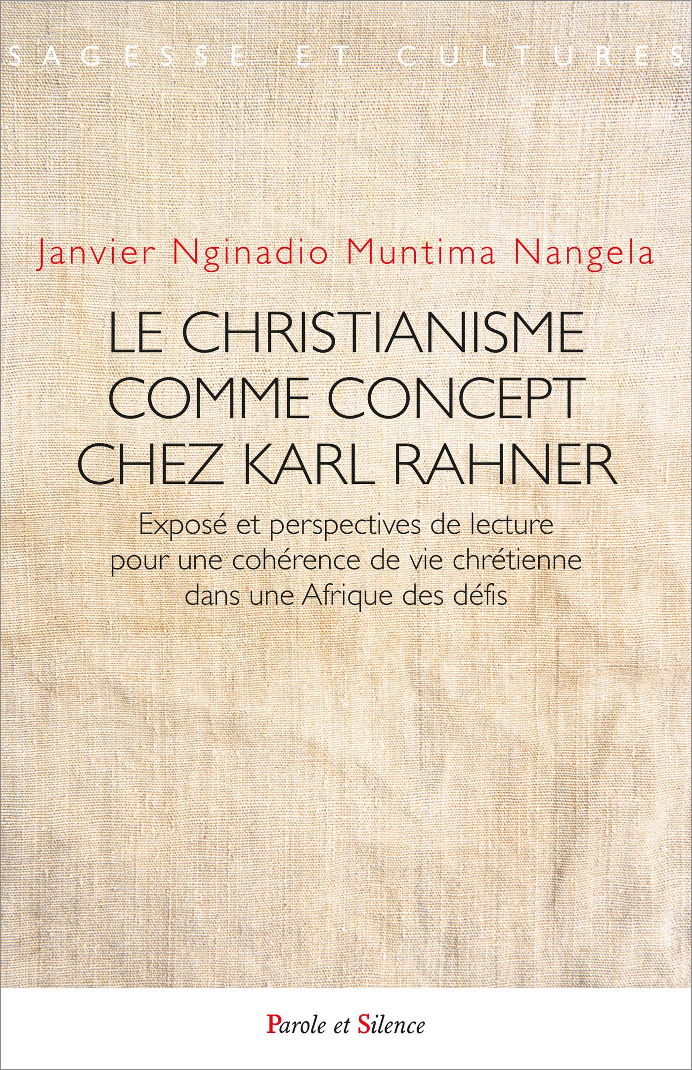 Le christianisme comme concept chez Karl Rahner