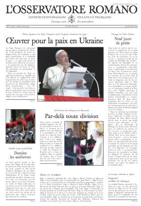 Osservatore Romano en langue française
