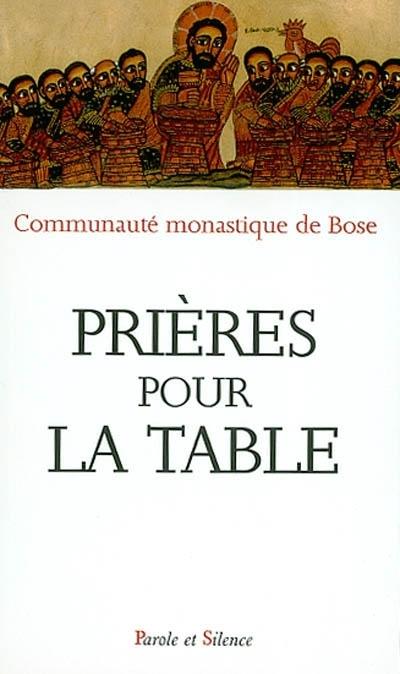 Pri res de la table parole et silence - Laisserons nous a notre table paroles ...