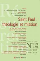 R�surrection, n� 129-130. Saint Paul : th�ologie et missions