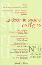 R�surrection 132-133 La doctrine sociale de l'Eglise