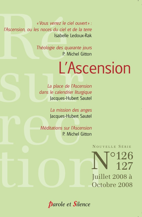 Résurrection, n° 126-127. L'Ascension