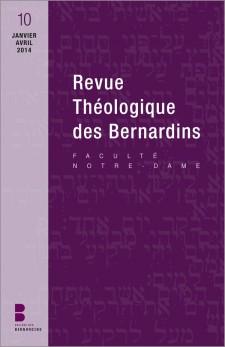 Revue théologique des Bernardins 10