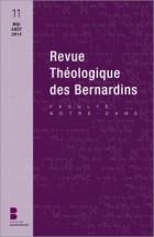 Revue théologique des Bernardins 11