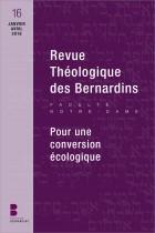 Revue théologique des Bernardins 16