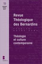 Revue Théologique des Bernardins n°19