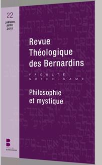 REVUE THEOLOGIQUE DES BERNARDINS n. 22