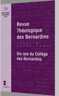 Revue théologique des Bernardins 24
