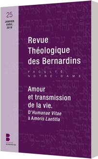 Revue Théologique des Bernardins n°25