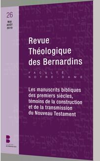 Revue Théologique des Bernardins n°26