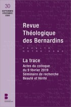 Revue théologique des Bernardins n°30