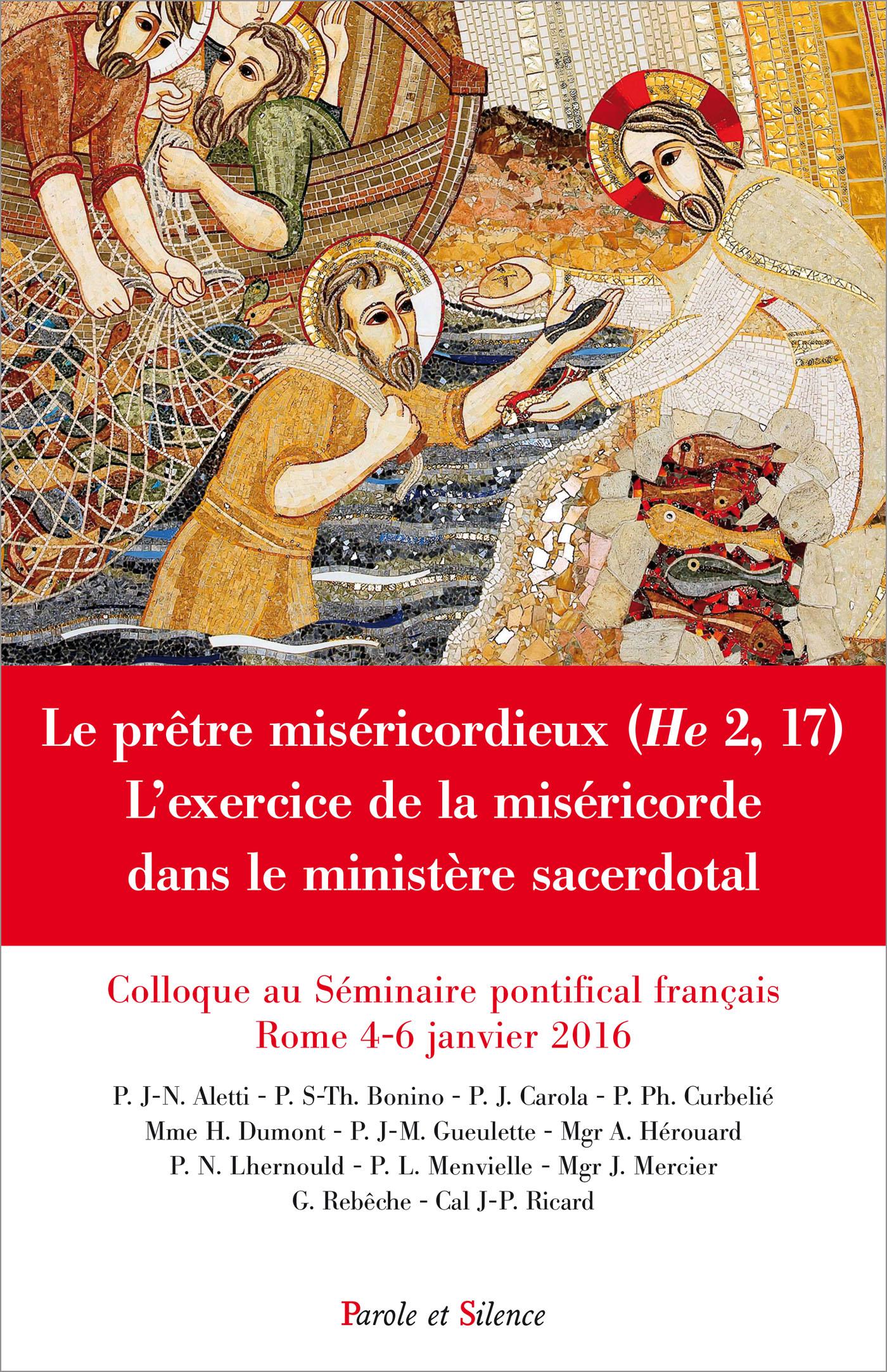 Le prêtre miséricordieux (He 2,17)
