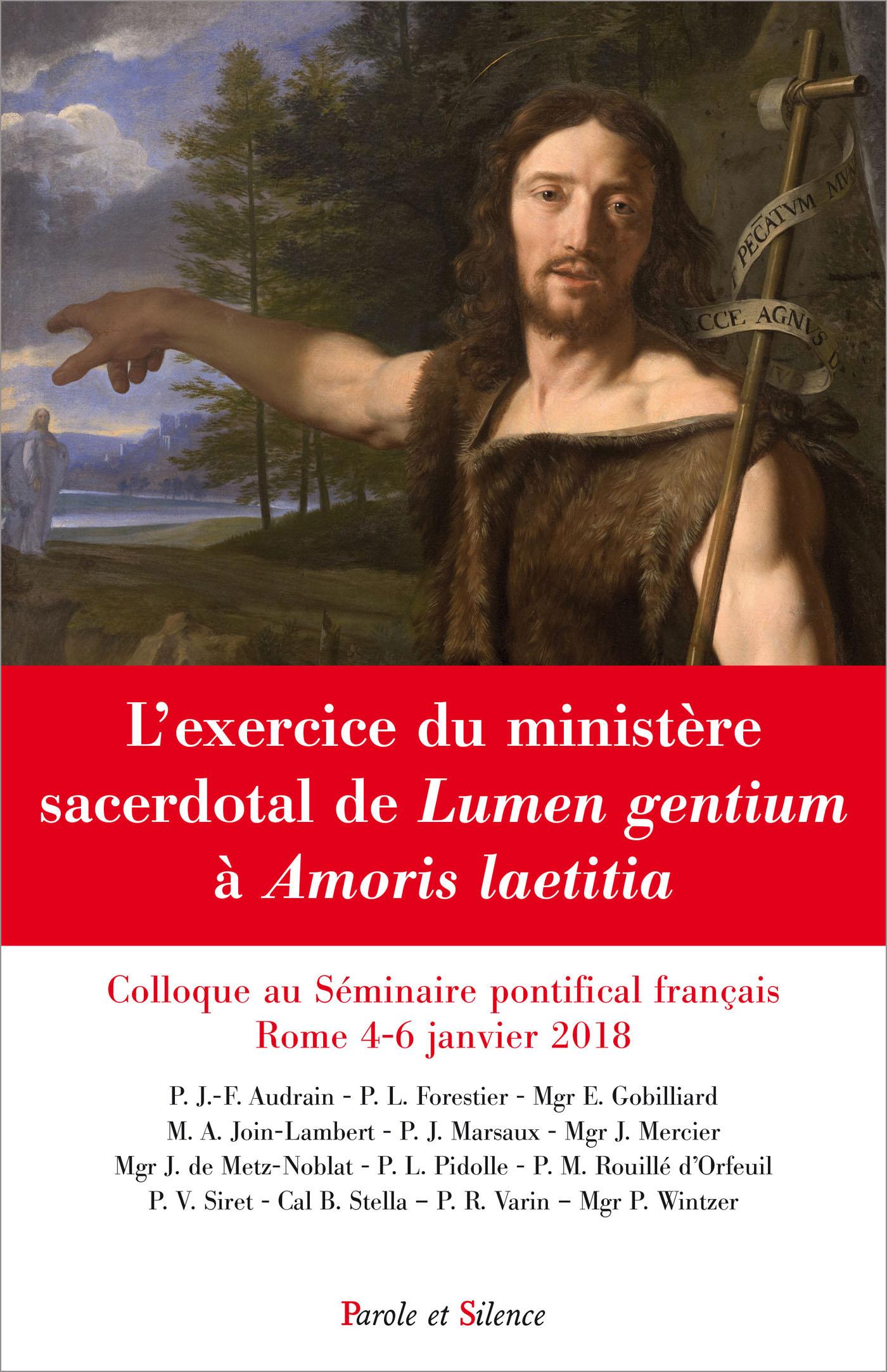 L'exercice du ministère sacerdotal de Lumen gentium à Amoris laetitia