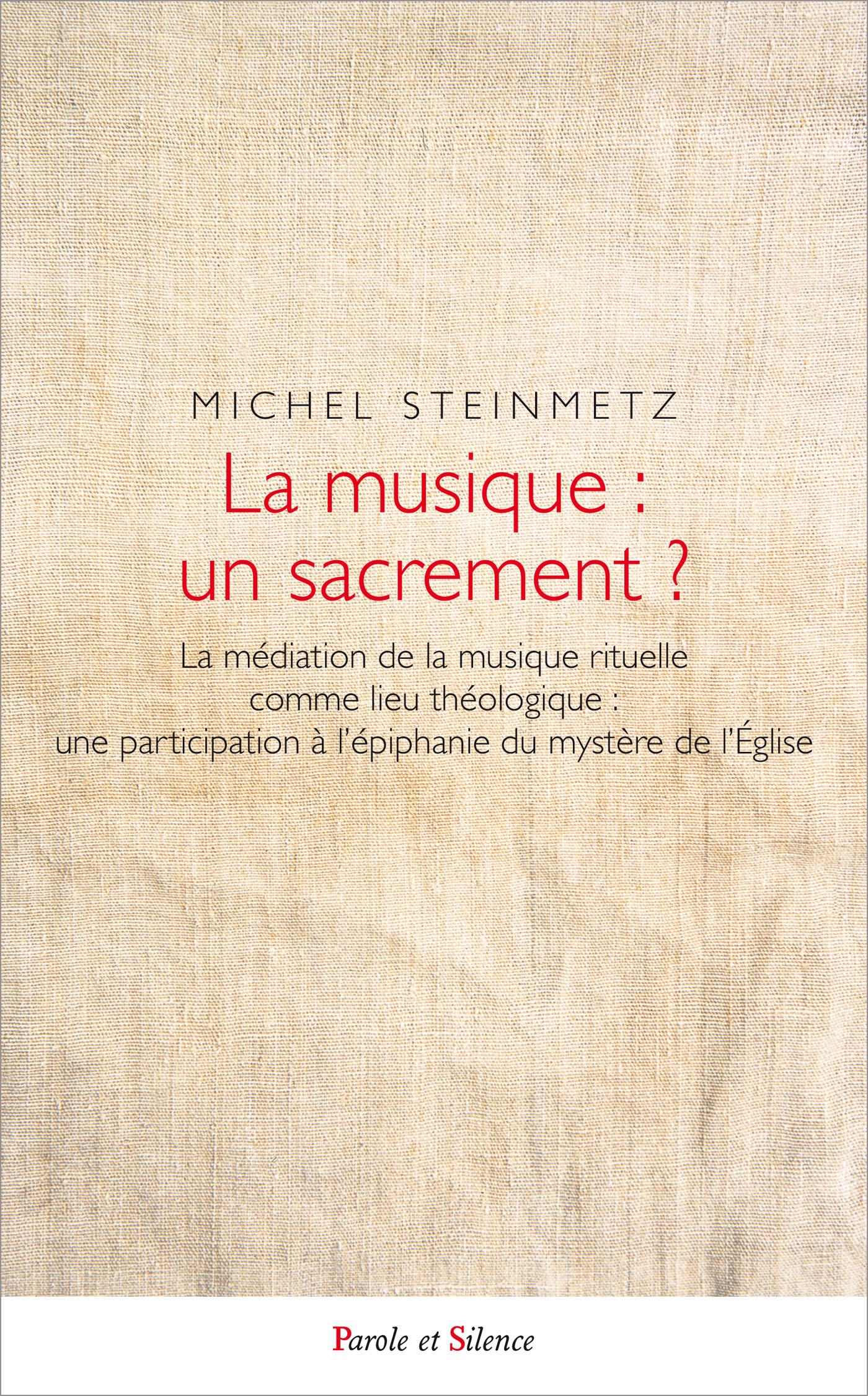 La musique : un sacrement ?