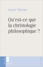 Qu'est-ce que la christologie philosophique ?