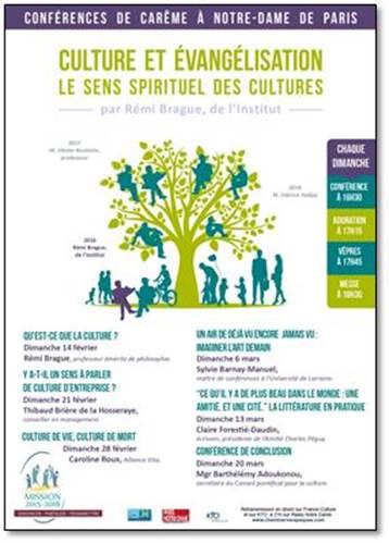 Conférences de carême de Paris